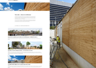 construire en terre crue - toa architectes